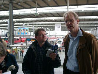Anton Rauch (BR) und Volker Hentschel