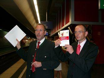 Heiko Hamann und Michael Wuth