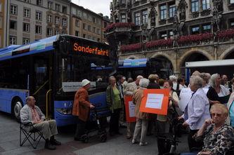 Protest auf dem Marienplatz
