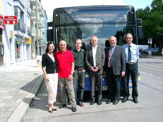 Hans-Ulrich Pfaffmann (Vierter von links)