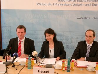 Klaus-Dieter Josel, Kaja Hessel und Hans Peter Göttler