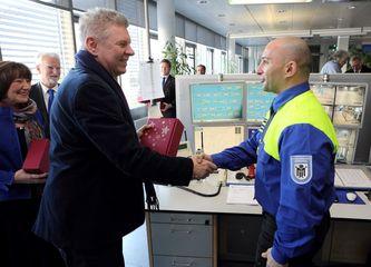 Oberbürgermeister Reiter bedankt sich